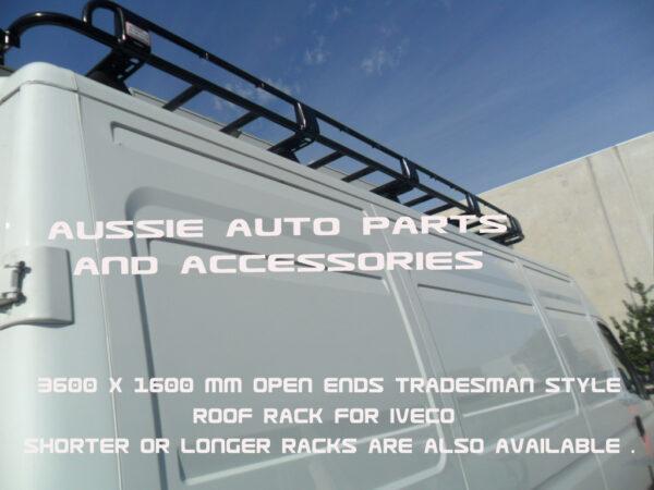 Tradesman Style Alloy Rack 3600x1600mm