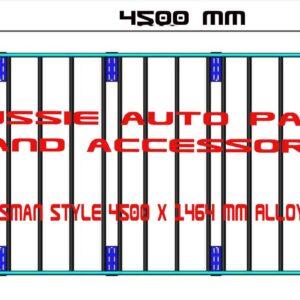 Tradesman Style Alloy Rack 4500x1464mm