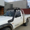 Fully Enclosed Steel Roof rack for single cab utes 850x1250mm