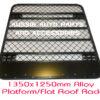 Platform Flat Alloy roof rack 1350x1250mm