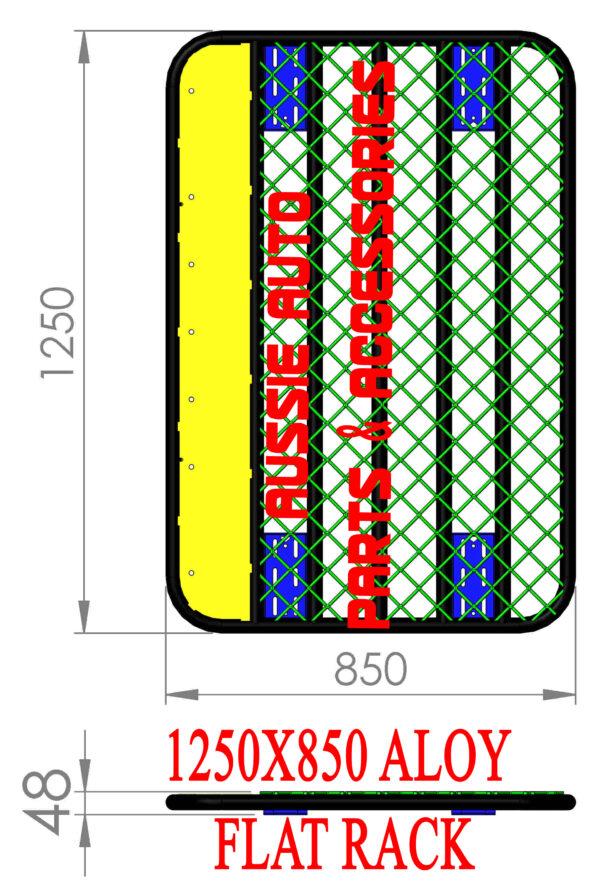 Flat /Platform Rack 850x1250x160mm