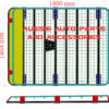 Fully enclosed cage 1800x1395mm